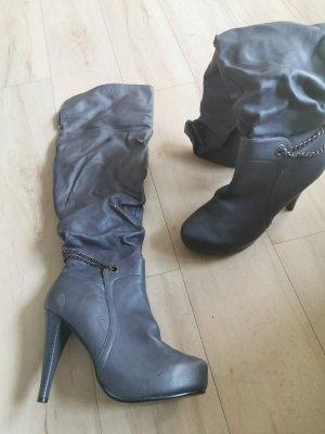 High Heel Boots grey