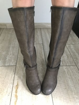 Vintage Heel Boots multicolored