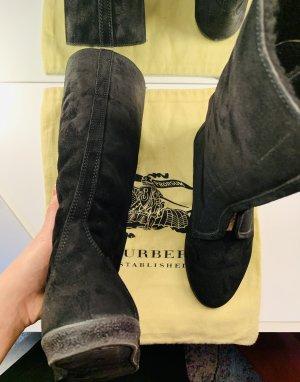 Burberry Botas de invierno negro