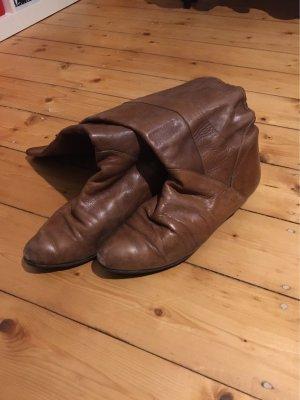 Boots western cognac-brun