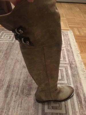 A.S.98 Buty nad kolano jasnobrązowy