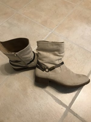 footflexx Korte laarzen licht beige