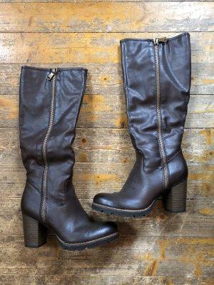 Heel Boots dark brown