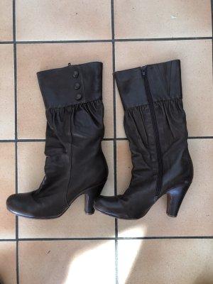 Chie Mihara Heel Boots dark brown