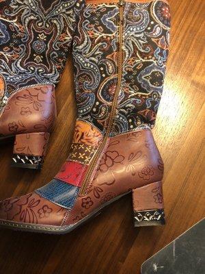 Heel Boots brown red