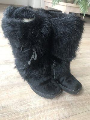 Oscar B. Fur Boots black