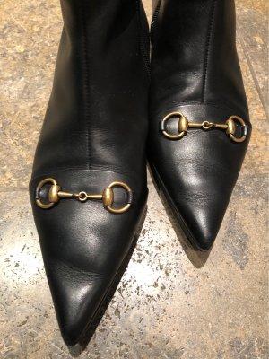 Gucci Bottines à fermeture éclair noir