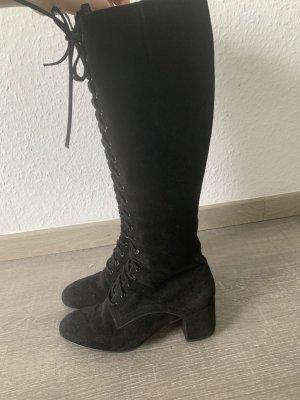 Högl Bottes à lacets noir