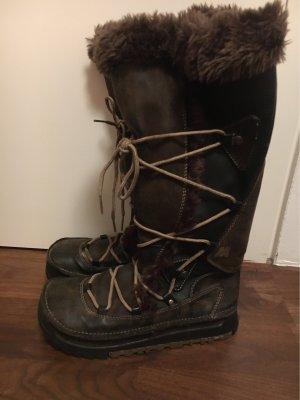 Mustang Buty zimowe ciemnobrązowy