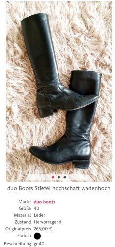 duo boots Kaplaarzen zwart