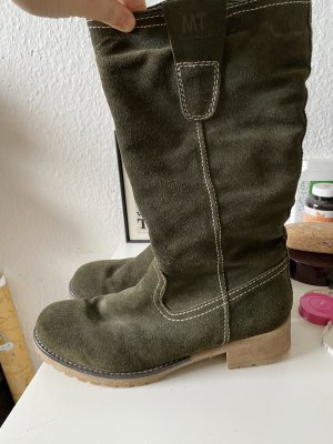 Marco Tozzi Winter Boots green grey