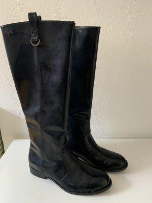 Esprit Gumowe buty czarny