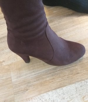 Kniehoge laarzen bruin