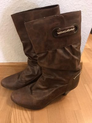 Bullboxer Western Boots brown