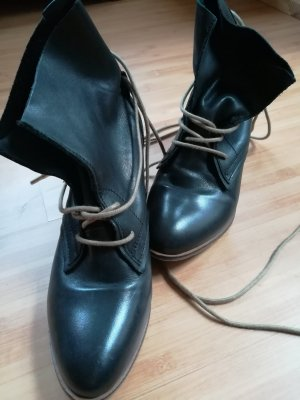 Lace-up Booties dark grey-anthracite