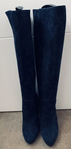 Mai piu senza High Heel Boots dark blue-blue