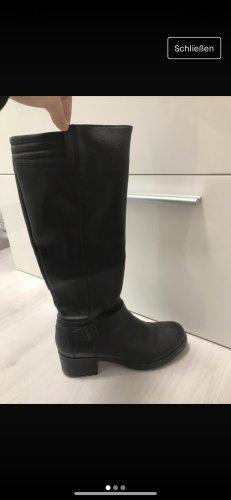 Esprit Botas sobre la rodilla negro