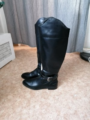 Zara Wedge Booties black
