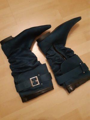 Graceland Stretch Boots petrol