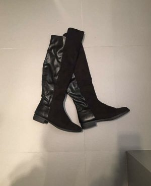 Dorothy Perkins Stretch Boots black