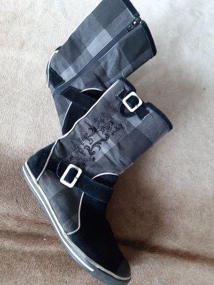 Killah Korte laarzen zwart-grijs