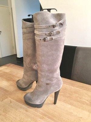 Alessandro Dell' Acqua Heel Boots multicolored leather