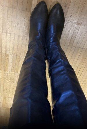 A.S.98 Buty nad kolano czarny