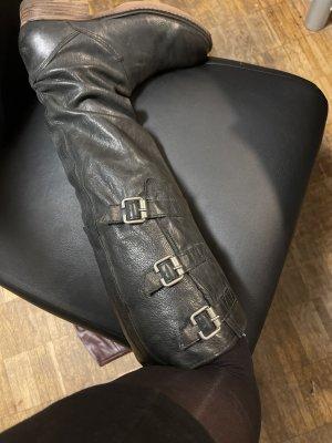 A.S.98 Botas sobre la rodilla negro