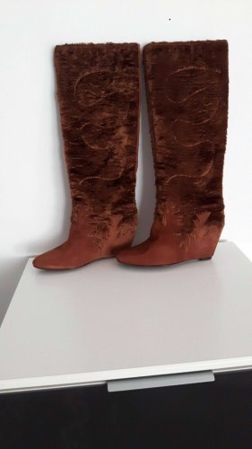 ASH Heel Boots camel leather