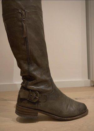 Helen Billkrantz Winter Boots grey brown