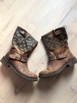 Stiefel aus Echtleder - Made in Italy