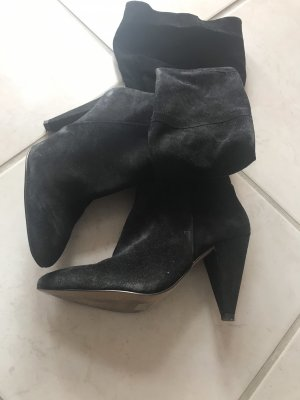 H&M Botas slouch negro