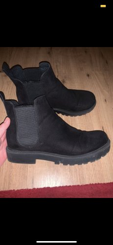 H&M Stivale a gamba corta nero