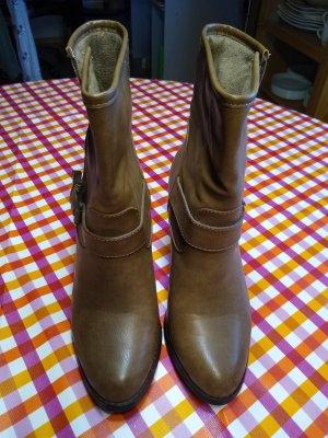 Jumex Heel Boots light brown