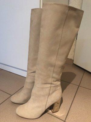 Stiefel beige Gr 38