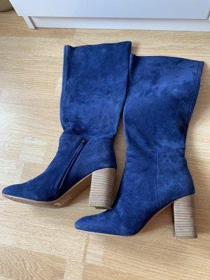 Stiefel blau 38