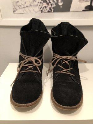 Stiefel Boots SPM Leder schwarz