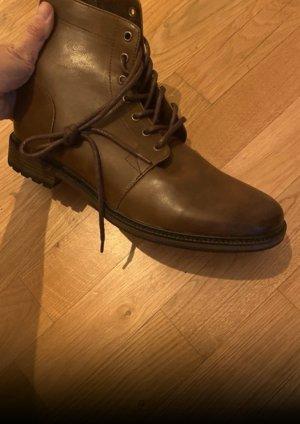 Stiefel Boots Stiefelte 44 braun