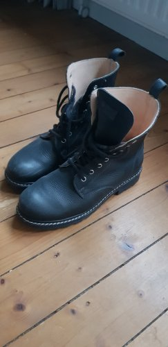 kavat Lace-up Boots black leather
