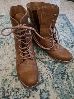 Deichmann Lace-up Boots brown