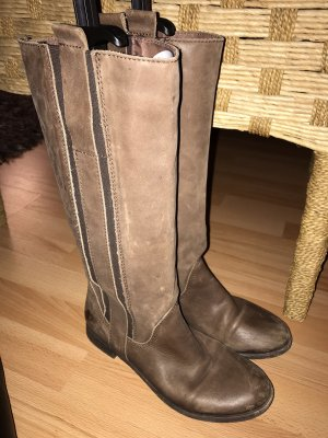 Stiefel braun, 39,leichte Gebrauchspuren