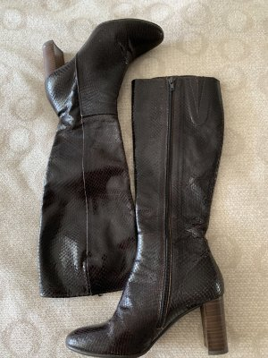 100 % Echt Leder Stiefel hellbraun Gr. 40, Neupreis 299 €
