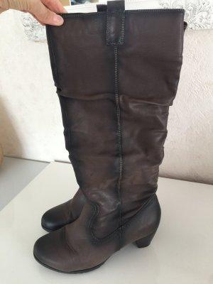 CityLine Heel Boots multicolored leather