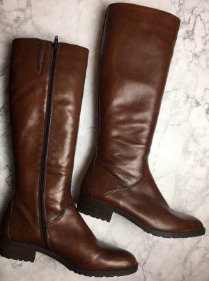 Stiefel braun cognac Gr. 41 Leder Drievholt Riding Boots