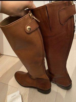 Cox Krótkie buty brązowy