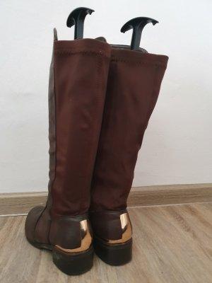 Stiefel braun Gr. 37
