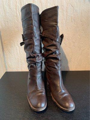 5th Avenue Laarzen met hak zwart bruin