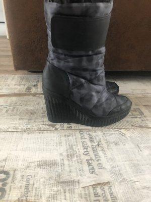 Calvin Klein Borceguíes gris-gris oscuro