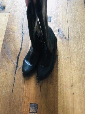 Car Shoe Stivale militare nero-argento