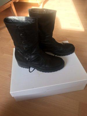 Stiefel Carla G. Boots schwarz Nieten Winter Herbst Übergang
